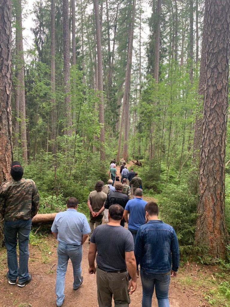 Представители ВООП приняли участие в выездном заседании комитета по природным ресурсам Ленинградской области